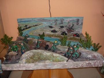Военно-патриотическая выставка в 3 школе